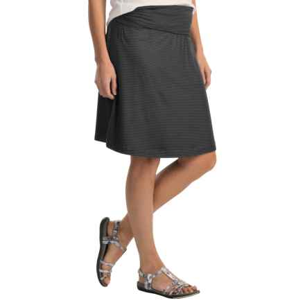 Woolrich Rendezvous Printed Skirt - UPF 50+ (For Women) in Black - Closeouts