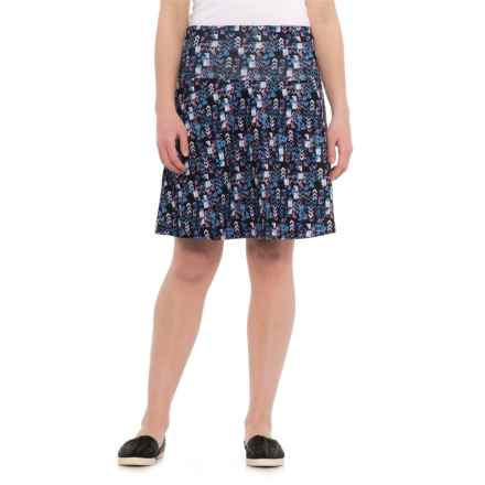 Woolrich Rendezvous Printed Skirt - UPF 50+ (For Women) in Navy - Closeouts