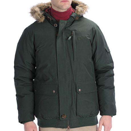 Woolrich Rescue Down Jacket - 550 Fill Power (For Men) in Dark Wood