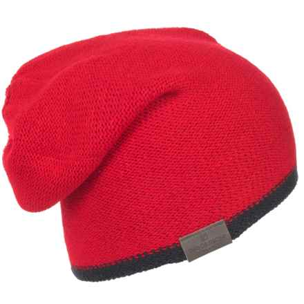 Woolrich Reversible Beanie (For Men) in Black - Closeouts