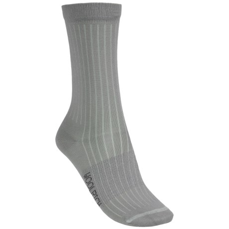 Woolrich Rib Microfiber Socks - Crew (For Women) in Twilight