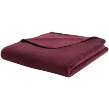 "Woolrich Richland Throw Blanket - 60x68"" in Deep Ruby - Closeouts"