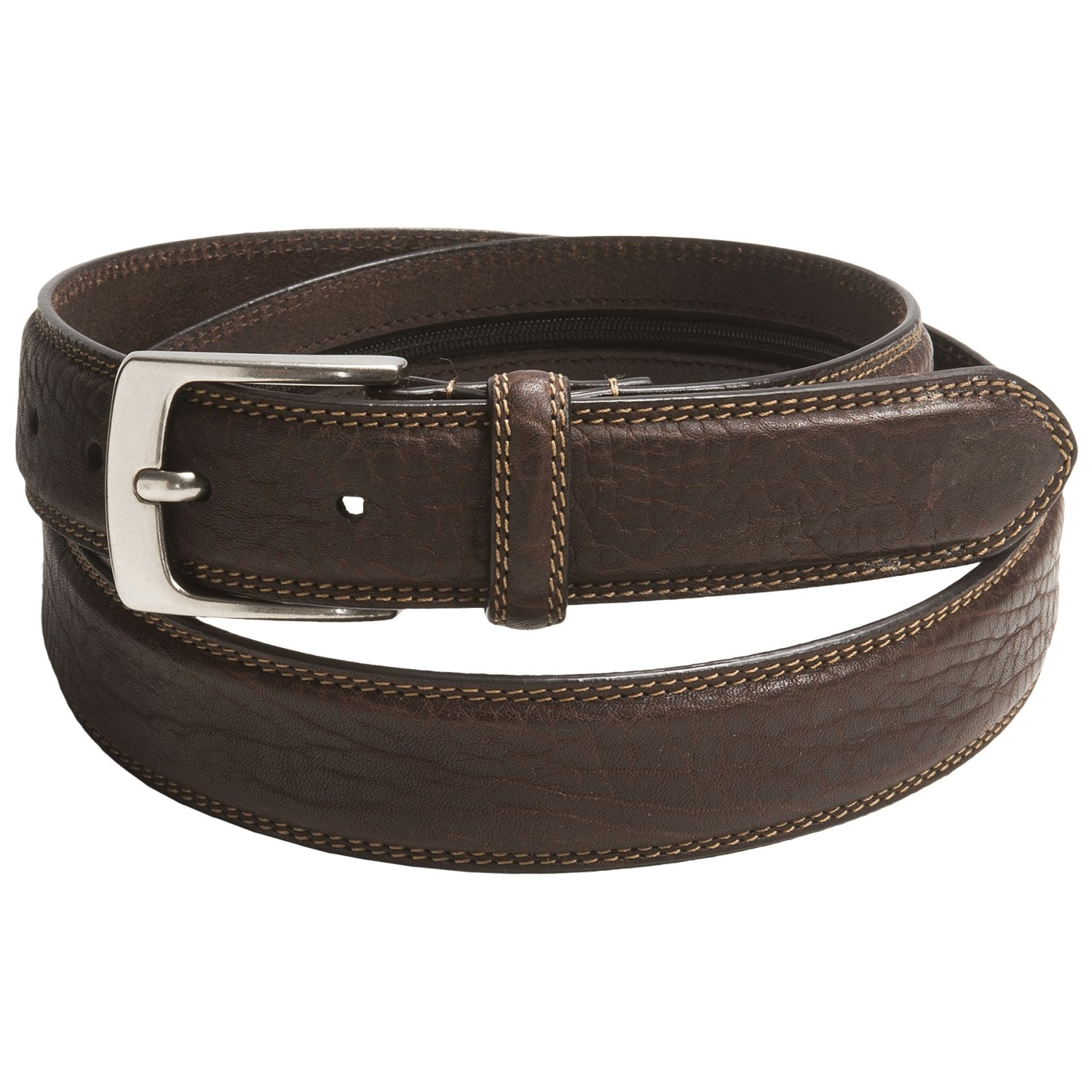 woolrich richmond leather belt for