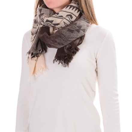Woolrich Rivers Edge Scarf (For Women) in Wool Cream - Closeouts