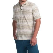 Woolrich Roadside Polo Shirt - Short Sleeve (For Men) in Laurel - Closeouts