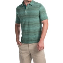 Woolrich Roadside Polo Shirt - Short Sleeve (For Men) in Olive Drab - Closeouts