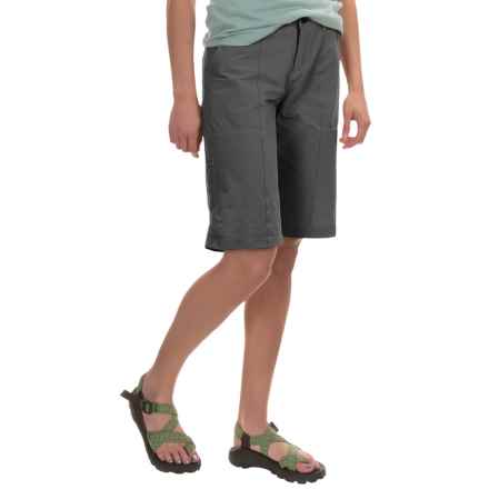 Woolrich Rock Line Ripstop Shorts (For Women) in Asphalt - Closeouts