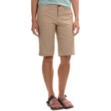 Woolrich Rock Line Ripstop Shorts (For Women) in Warm Khaki - Closeouts