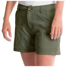 Woolrich Rock Line Shorts - UPF 50 (For Women) in Olive Drab - Closeouts