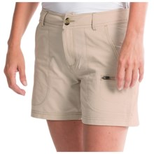 Woolrich Rock Line Shorts - UPF 50 (For Women) in Stone - Closeouts