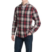 Woolrich Rock Pass Plaid Shirt - Long Sleeve (For Men) in Old Red - Closeouts