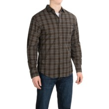 Woolrich Rock Pass Plaid Shirt - Long Sleeve (For Men) in Trail Brown - Closeouts