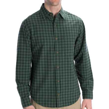 Woolrich Rock Pass Shirt - Long Sleeve (For Men) in Everglade - Closeouts