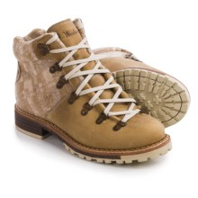 Woolrich Rockies Boots - Leather, Wool (For Women) in Quill/Camo - Closeouts