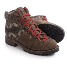 Woolrich Rockies Boots - Leather, Wool (For Women) in Stucco/Blanket - Closeouts