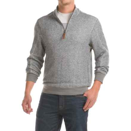 Woolrich Rocky Ledge Sweatshirt - Zip Neck, Long Sleeve (For Men) in Gray Heather - Closeouts