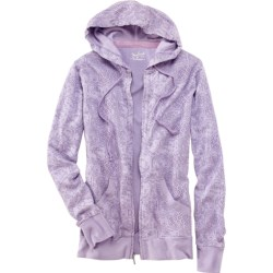Woolrich Rohana Hoodie - Full Zip (For Women) in Wisteria