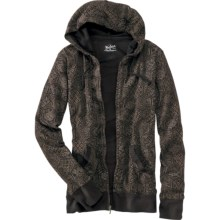 Woolrich Rohana Hoodie Sweatshirt - Full Zip (For Women) in Black - Closeouts