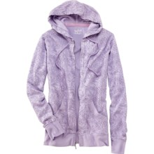 Woolrich Rohana Hoodie Sweatshirt - Full Zip (For Women) in Wisteria - Closeouts