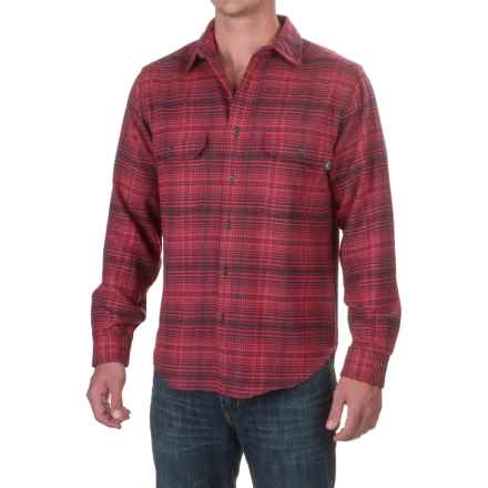 Woolrich Rothrock Flannel Shirt - Long Sleeve (For Men) in Red Plaid - Closeouts