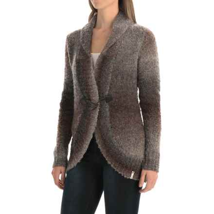 Woolrich Roundtrip Boucle Sweater (For Women) in Charcoal Space Dye - Closeouts