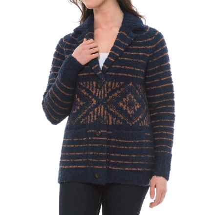 Woolrich Roundtrip Cardigan Sweater Coat (For Women) in Neptune - Closeouts