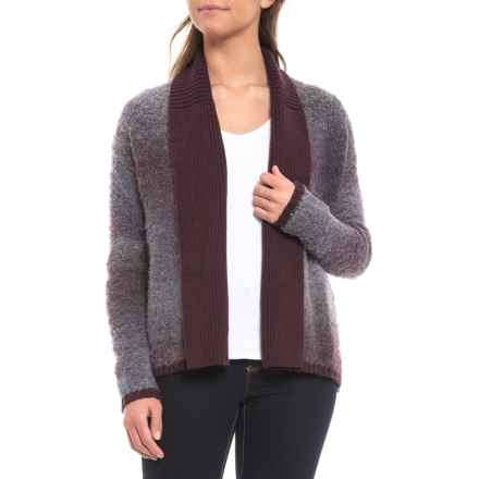 Woolrich Roundtrip Cardigan Sweater - Open Front (For Women) in Hyacinth Multi - Closeouts