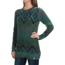 Woolrich Roundtrip Fair Isle Sweater (For Women) in Atlantic Space Dye - Closeouts