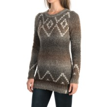 Woolrich Roundtrip Fair Isle Sweater (For Women) in Charcoal Space Dye - Closeouts