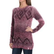 Woolrich Roundtrip Fair Isle Sweater (For Women) in Royal Purple Space Dye - Closeouts
