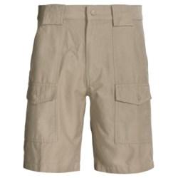 Woolrich Rugged Tideland Shorts (For Men) in Khaki