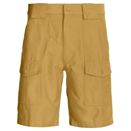 Woolrich Rugged Tideland Shorts (For Men) in Khaki