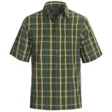 Woolrich Scenic Plaid Shirt - UPF 15+, Organic Cotton, Short Sleeve (For Men)