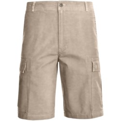 Woolrich Sequence Cargo Shorts - Peached Canvas (For Men) in British Tan