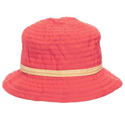 Woolrich Sewn Ribbon Bucket Hat (For Women) in Hot Guava - Closeouts