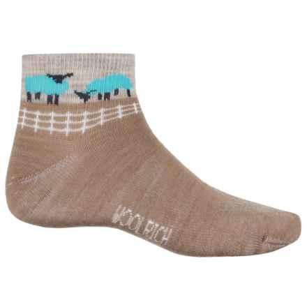 Woolrich Sheep Socks - Merino Wool, Ankle (For Women) in Khaki - Closeouts