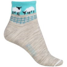 Woolrich Sheep Socks - Merino Wool, Ankle (For Women) in Oatmeal - Closeouts