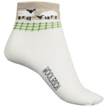 Woolrich Sheep Socks - Merino Wool, Ankle (For Women) in White - Closeouts