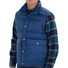 Woolrich Sierra Down Vest (For Men) in Dark Cobalt - Closeouts