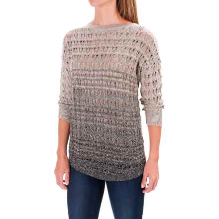 Woolrich Silver Pines Sweater (For Women) in Vintage Khaki Combo - Closeouts