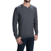 Woolrich Six Mile Sweater (For Men) in Slate - Closeouts