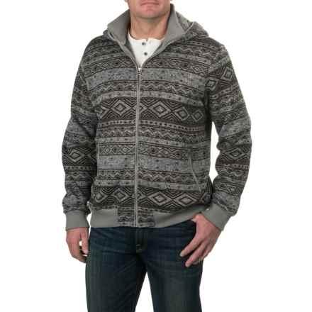 Woolrich Snow Depth Fleece Hooded Jacket (For Men) in Nickel - Closeouts