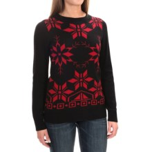 Woolrich Snowdrop Sweater (For Women) in Black - Closeouts