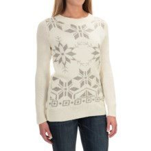 Woolrich Snowdrop Sweater (For Women) in Wool Cream - Closeouts