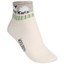 Woolrich Socks - Merino Wool, Quarter-Crew (For Women) in White - Closeouts