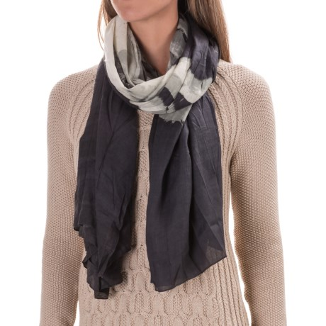 Woolrich Soft Nuzzle Wrap Scarf (For Women) in Black