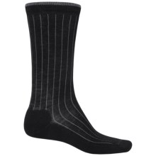 Woolrich Solid Dress Socks - Merino Wool, Crew (For Women) in Granite - Closeouts