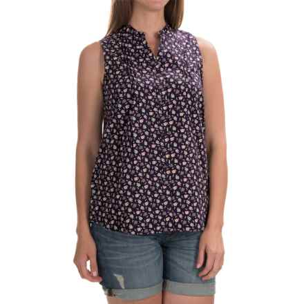 Woolrich Somerset Printed Shirt - Sleeveless (For Women) in Wild Grape - Closeouts
