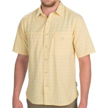Woolrich Southbound Shirt - Short Sleeve (For Men) in Beeswax - Closeouts