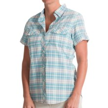 Woolrich Spoil Her Shirt - Short Sleeve (For Women) in Parrot - Closeouts